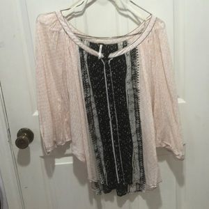 Free People Tops - Free people button up blouse loose